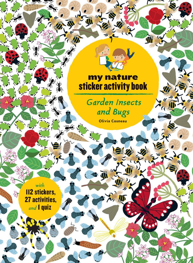 PAPress My Nature Sticker Activity Book - Garden Insects & Bugs