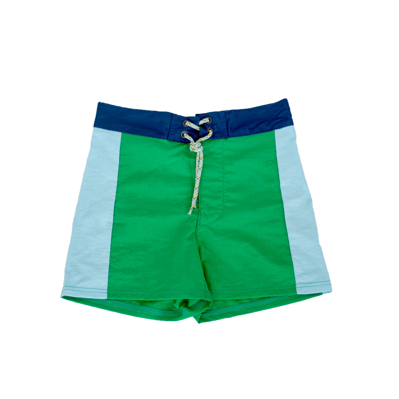 Pacific Rainbow Sidney Boys Swim Shorts Vert Prairie