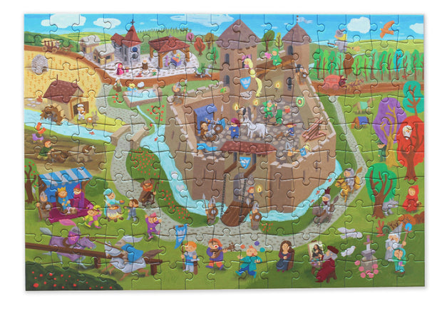 Pirouette Cacahouète Puzzle - Back to The Middle Ages