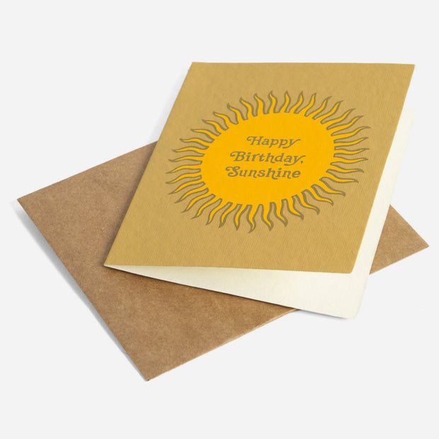 Printfresh Greeting Card - Birthday Sunshine