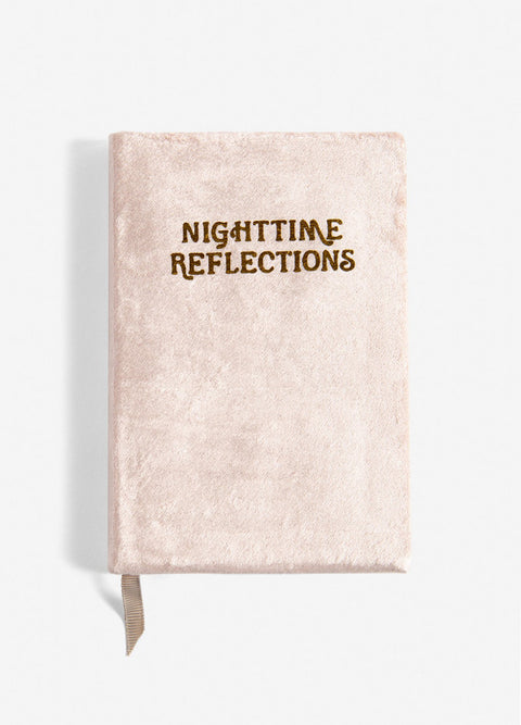 Printfresh Nighttime Reflections Velvet Mindfulness Journal