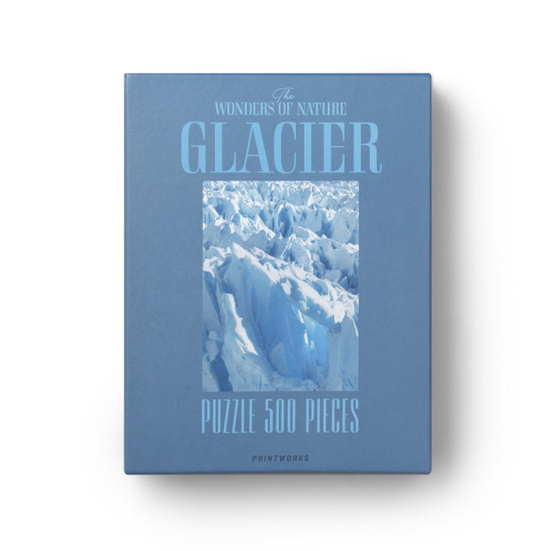 Printworks The Wonders of Nature 500 Pieces Puzzle Glacier