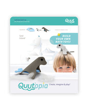 Quut Build Your Own Bath Toys - Seal Island