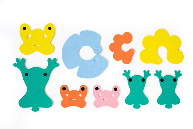 Quut Build Your Own Bath Toys - Frog Pond