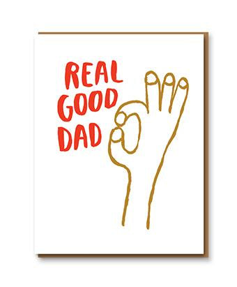 Egg Press Card - Real Good Dad