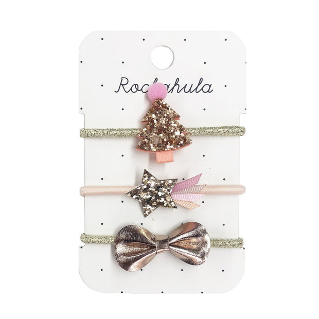 Rockahula Rose Gold Xmas Tree Ponies