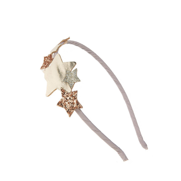 Rockahula Star Burst Headband Gold