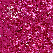 Eco Glitter Fun biodegradable cosmetic glitter pink