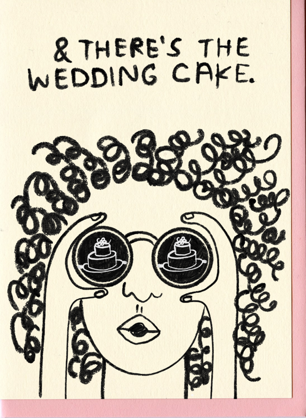 People I've Loved Wedding Cake Card