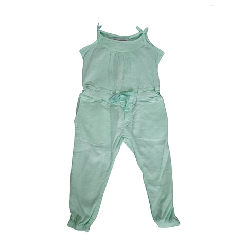 sunchild girls carbo aquamarine blue jumpsuit