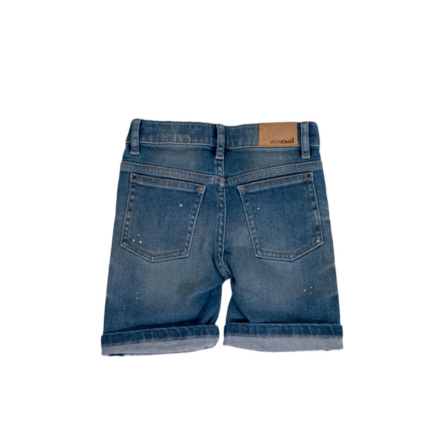 SUNCHILD Boys Lokka Denim Shorts Blue Salt