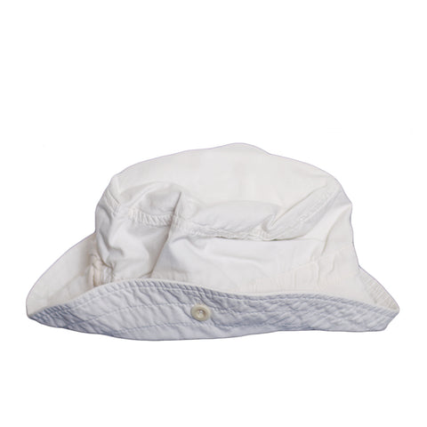 sunchild boys and girls Flores milky white sun hat