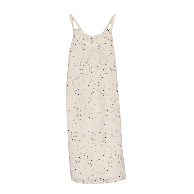 sunchild girls hibiki star print ivory summer dress