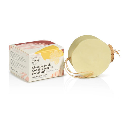 Unii Organic Shampoo Bar for Dry and Damaged Hair