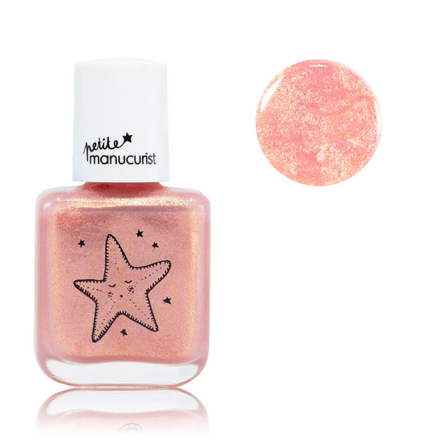 Manucurist non-toxic water-based Nail Polish Stella the starfish for kids