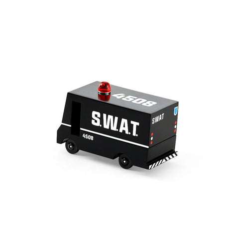 candylab wooden toy swat van