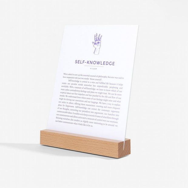The School Of Life Wisdom Card Set