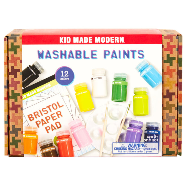 kid made modern 12 colours washable paint