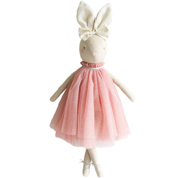 alimrose daisy bunny soft toy doll