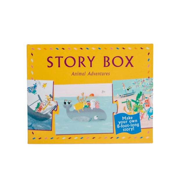 Laurence King Publishing Story Box - Animal Adventurers juego