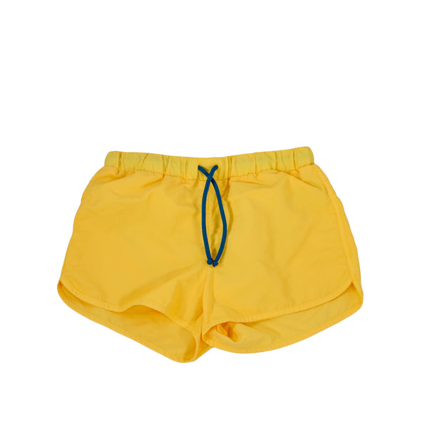 sunchild boys Bahia yellow swim shorts drawstring waist