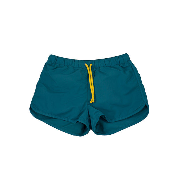 sunchild boys Bahia petrol green swim shorts drawstring waist
