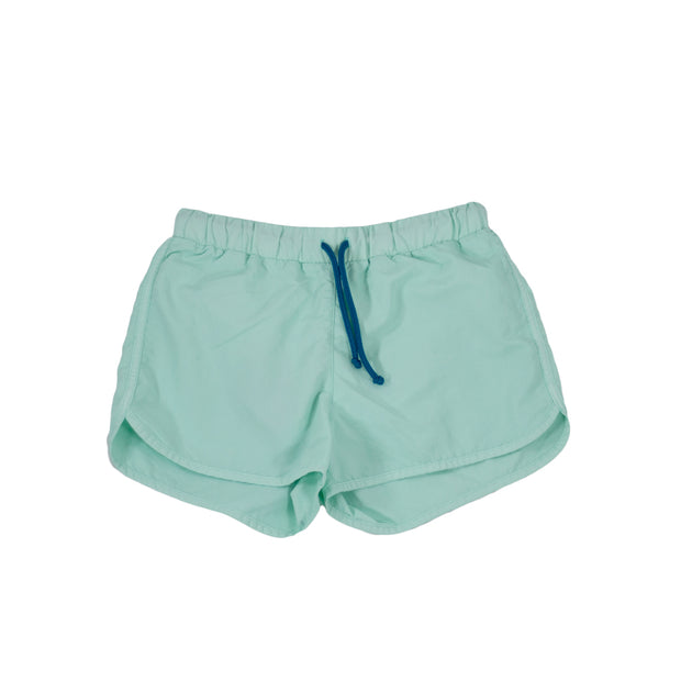 sunchild boys Bahia aquamarine blue swim shorts drawstring waist
