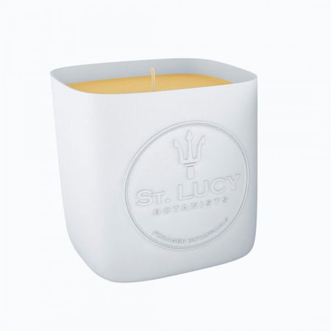 ST. Lucy Botanists Wildflower Beeswax Candle