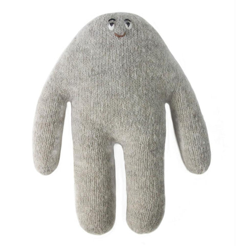 blabla kids soft knitted monster in grey