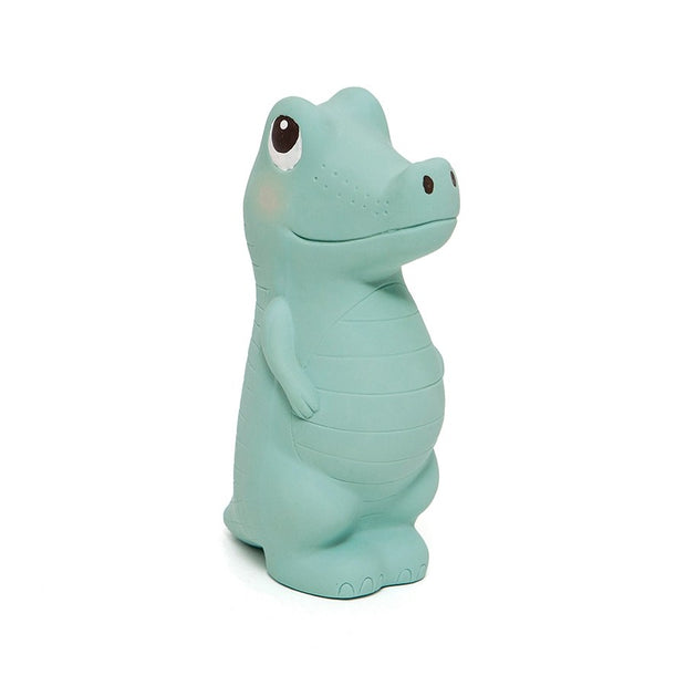 Petit Monkey Charlie The Crocodile Natural Rubber Toy