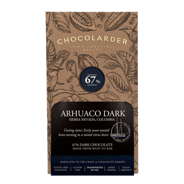 Chocolarder Arhuaco Dark 67% Dark Chocolate