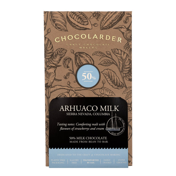 Chocolarder Arhuaco Milk 50% Milk Chocolate
