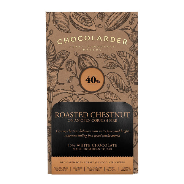 Chocolarder Roasted Chestnut 40% White Chocolate