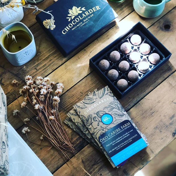Chocolarder Sea Salt Caramel Truffles