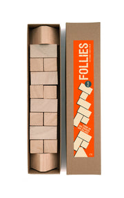 christian Lessing Follies Plus Stacking and building Game