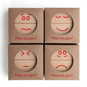 christian Lessing How Are You? wooden mood blocks