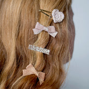 five/eleven hair clips on hair