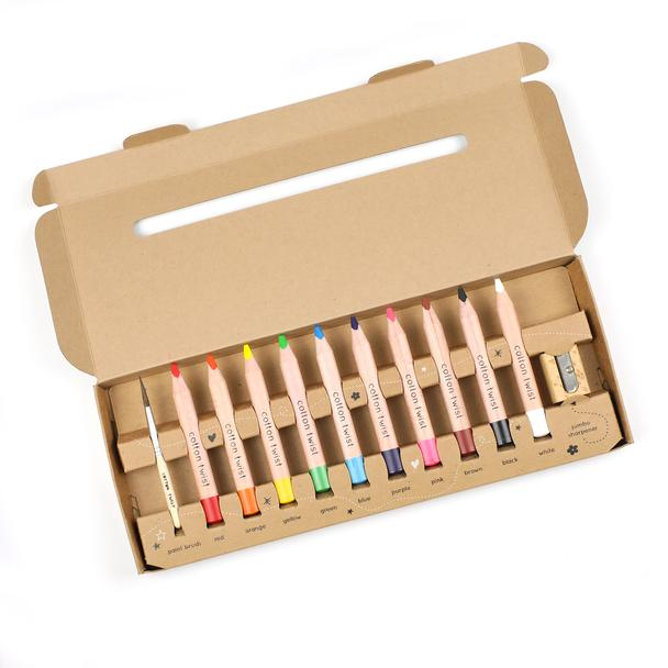 Cotton Twist Jumbo Watercolour Pencil Box