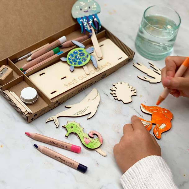 Cotton Twist Save our Oceans Craft Kit