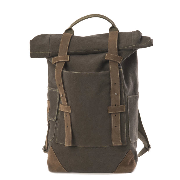 Travaux En Cours Large Cotton Backpack Bronze