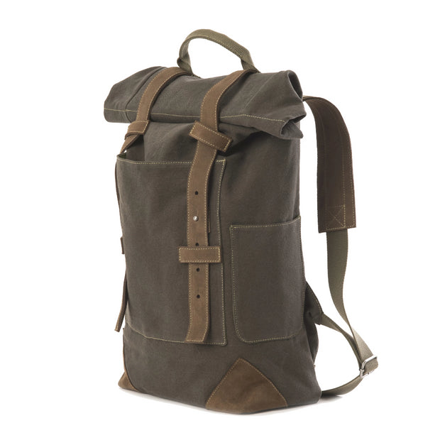 Travaux En Cours Large Cotton Backpack-Bronze
