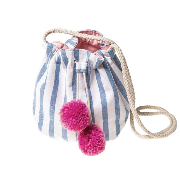 Rockahula Kids Bag - Stripy Pom Pom