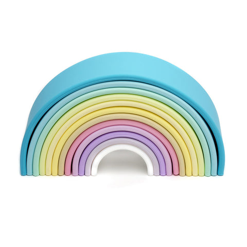 Dena Silicone My First Rainbow in Pastel Colours