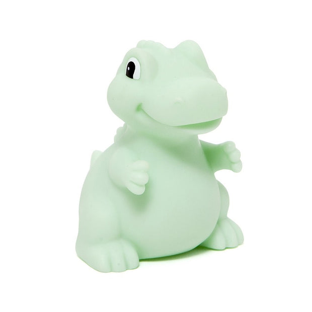Petit Monkey Night Light Dino - T-Rex Mint
