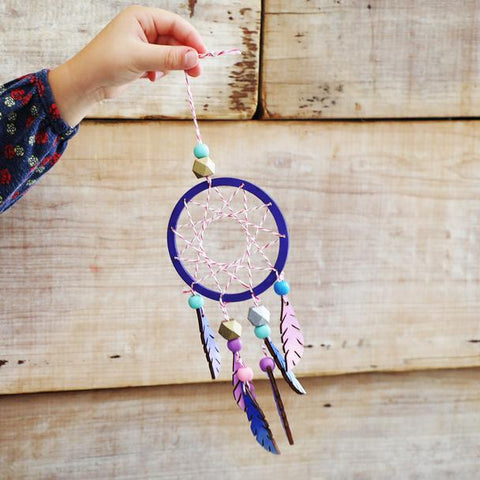 Cotton Twist Make Your Own Dreamcatcher Craft Kit Activity Box