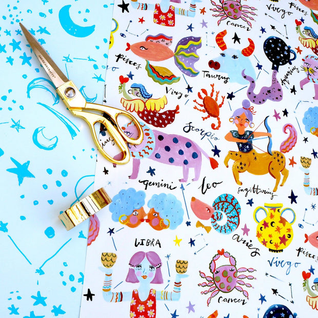 Eleanor Bowmer Wrapping Paper - Horoscopes