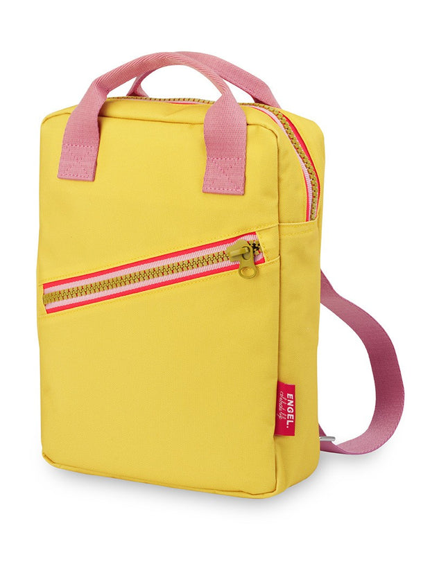 engel kids backpack Small Zipper Yellow