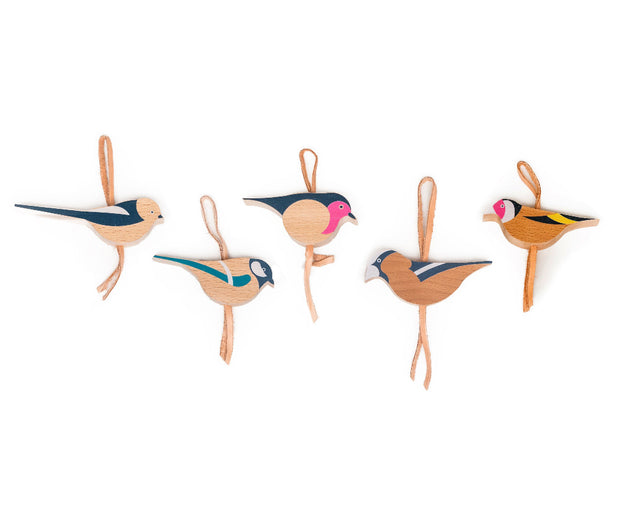 Eperfa Hillside Birds Ornaments