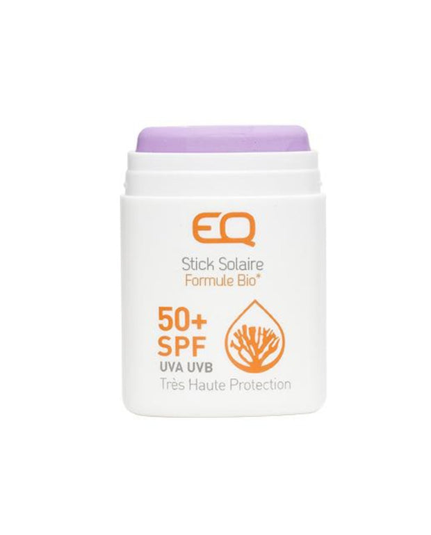 EQ eco friendly Sun Stick SPF50 purple