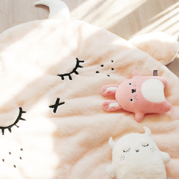 Noodoll baby Blanket / Playmat - Ricepuffy Champagne monster